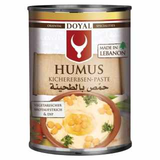 Doyal - Humus (Kichererbsen-Paste) 400 g