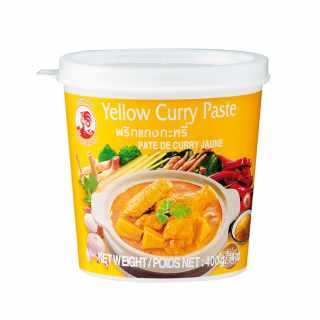 Cock Brand - Gelbe Currypaste 400 g