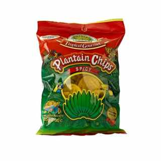 Tropical Gourmet - Plantain Chips Würzig 85 g