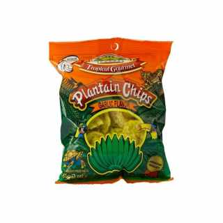 Tropical Gourmet - Plantain Chips Knoblauch 85 g