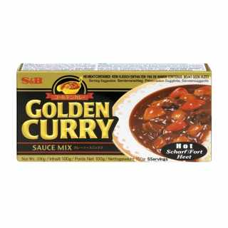 S&B - Golden Curry (scharf) 92 g